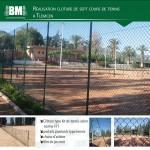 Court de tennis a TLEMCEN