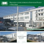 Cloture Show Room Peugeot – Oued Smar