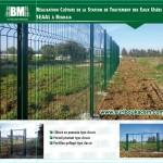 Clôture de station de traitement des eaux usées – SEAAL Réghaia –